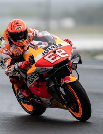 Moto GP moto da corsa Repsol Sponsor - LeMans Marquez
