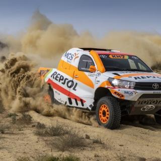 Rally Sponsor Repsol