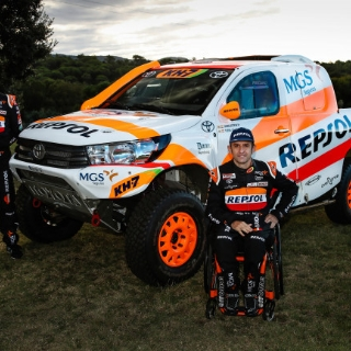 Repsol Rally Fuoristrada Sponsor
