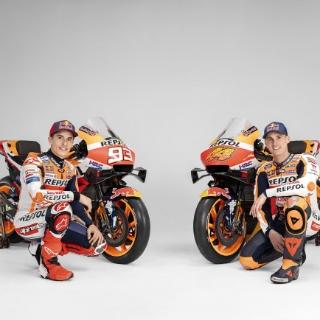 Repsol Honda Moto GP - Sponsor Campioni